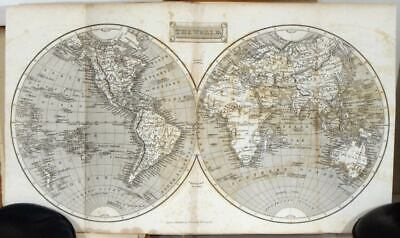 WORLD / UNITED STATES / London General Gazetteer or compendious Geographical
