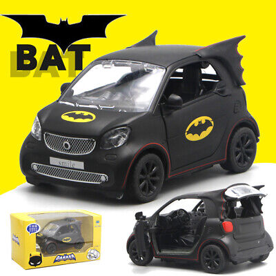Mercedes Benz Smart Fortwo 2nd Generation Batman Limited Edition 1:36 Rare NEW