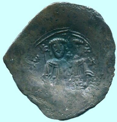 AUTHENTIC BYZANTINE EMPIRE Aspron Trache Coin 2.7 g/27.05  mm ANC13480.13