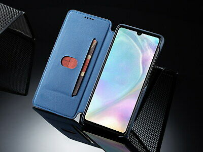 For Huawei P30 LITE Soft TPU Leather Protector Back Case Shockproof Luxury Slim