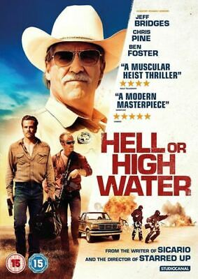 Hell or High Water Dvd Jeff Bridges Brand New & Factory Sealed