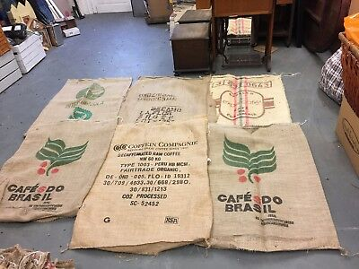 Jute/Hessian Various Design Coffee Sack