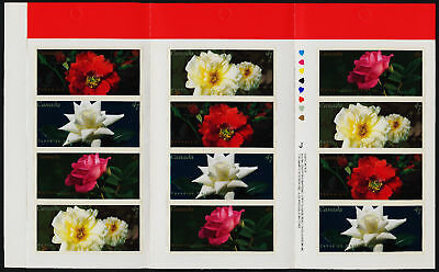 Canada 1914a Booklet BK245b MNH Flowers, Roses