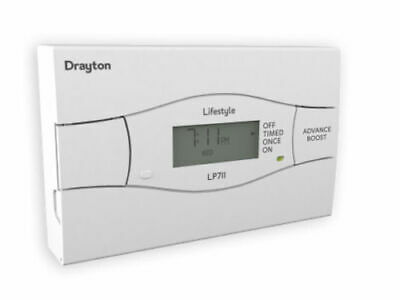 Drayton Lifestyle LP711 7 Days Electronic Time Switch