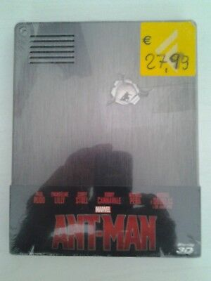 Ant-Man - Limited Edition (Blu-Ray 3D + Blu-Ray Disc - Steelbook) FUORI CATALOGO