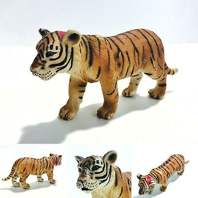 Schleich Tiger Cub Figure (2003) German Bengal Toy Animal Cute Jungle Play