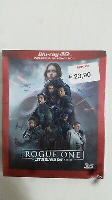 Rogue One - A Star Wars Story (Blu-Ray 3D + 2 Blu-Ray Disc) SLIPCASE NUOVO