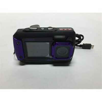 Coleman Duo2 2V9WP-P 20 MP Waterproof Digital Camera with Dual LCD Screen (Purpl