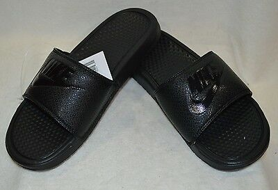 Nike Benassi JDI Black Men's Slides Sandals-Assorted Sizes NWB 343880-001