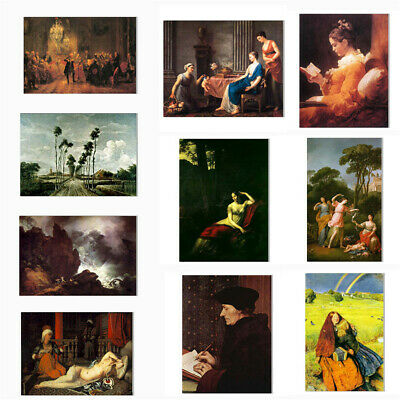 Classical Art Oil Painting Unframed Poster Print Canvas Picture Wall Decoration
