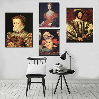 Classical Unframed Poster Print Canvas Oil Painting Wall Picture Art Decor Gift