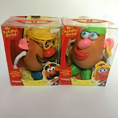 Playskool Mr and Mrs Potatoe Head Boxed Wear and tear