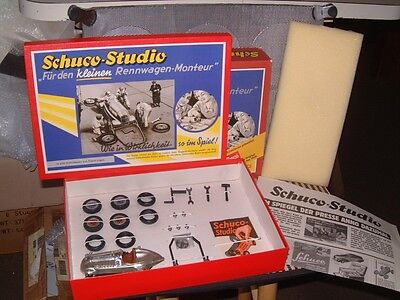 "Vintage Nos ""Schuco-Studio 1055"" Tin Racer Kit. German Anniversary Edition! Nib."