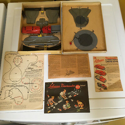 Schuco Varianto 3010D Complete & Fully Working Set With Box! Us Zone Germany
