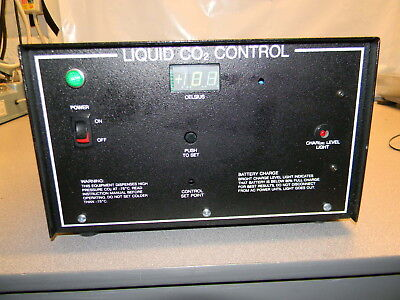 Thermo Fisher 6593-1 CO2 Backup System, Unable to Test