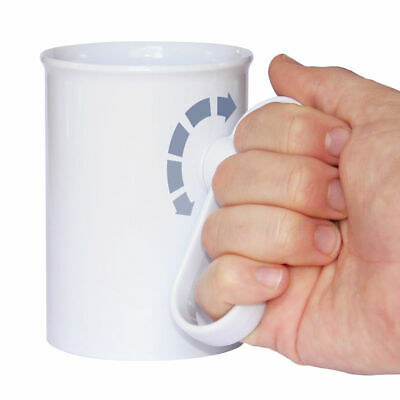 Handsteady Drinking Aid - Adult Feeding Cup - Anti Spill Feeder Beaker