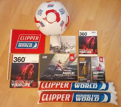 Clipper Round The World Race 2017 / 2018 - Complete Souvenir Pack - Sailing