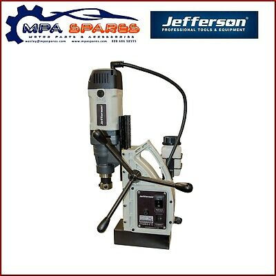 JEFFERSON 40mm INDUSTRIAL MAGNETIC DRILL - 1500W 800RPM 110V