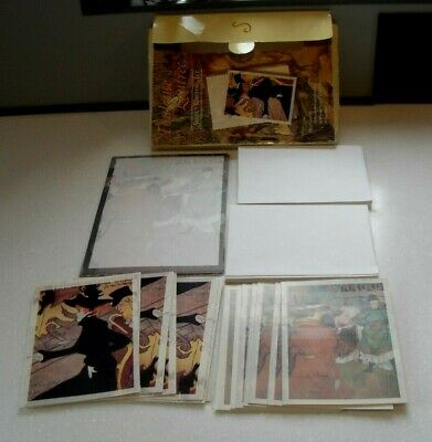 Vintage 1995 Toulouse Lautrec Select Writing Stationery Set In Original Box