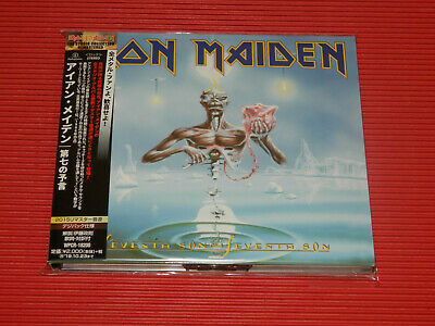2015 REMASTER IRON MAIDEN Seventh Son Of A Seventh Son JAPAN DIGIPAK CD