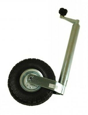 Jockey Wheel 48mm with Heavy Duty 4ply Pneumatic Tyre - Caravan MP4375