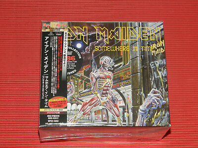 2015 REMASTER CD IRON MAIDEN Somewhere In Time  COLLECTORS EDITION JAPAN