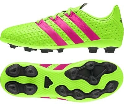2e84e7b944c3 Adidas ACE 16.4 FxG Junior Size UK 5 Boys Girls Ladies Football Boots AF5034