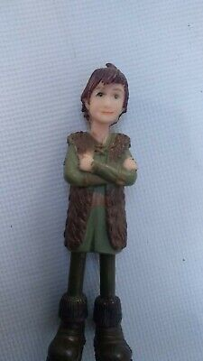 Rare 2010 How To Train Your Dragon Marukatsu HICCUP Detailed Action Figure Toy