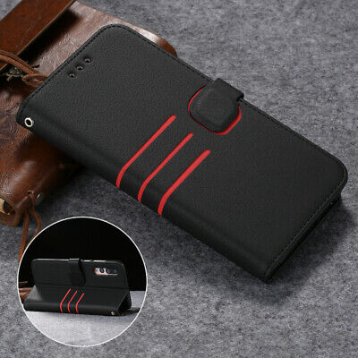 Case For Huawei P Smart 2019 Premium Leather Flip Magnetic Stand Wallet Cover