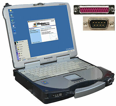 IDEALE MOBILE KASSE STOSSSICHERES NOTEBOOK RS-232 PCMCIA LPT PARALLEL RS-232