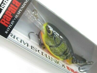 Rapala JSR-7 Fire Crawdad Jointed Shad Rap 07 Rattling Fishing Lure JSR07-FCW