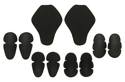 Motorcycle Jacket Armour Insert Shoulder Elbow Knee Back Impact Protection