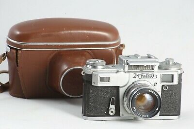 Kiev 4 35mm rangefinder camera with Jupiter-8 50mm f2 zeiss sonnar copy contax