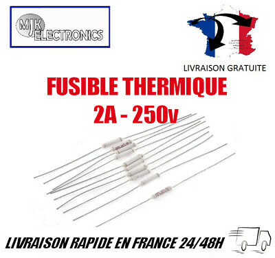 Thermal Fuses / Fuses Thermal 2a 250v Choice of Temperature Cut-Offs