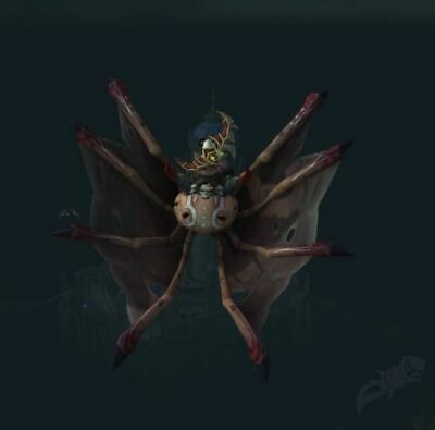 World of Warcraft WoW Rare Mount Loot Card Turbo-Charged Flying Machine US//NA