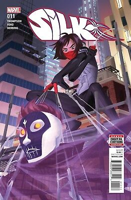 Silk #11 1st print Marvel Comic 2016 NM
