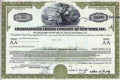 Consolidated Edison Company of New York Inc., 1974, 4 5/8% Bond 1993 (100.000 $)