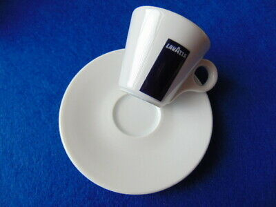 ESPRESSO COFFEE cup & saucer - LAVAZZA cafe - ITALY & PORTUGAL. WORTH A LOOK