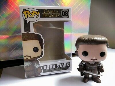 Funko Pop Game of Thrones  Robb Stark # 08 Vinyl Figure TOY Gift