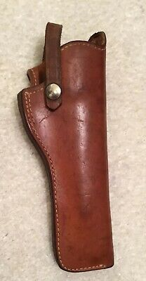 Vintage Smith & Wesson 22 26 Brown Leather Right Hand Gun Pistol Holster