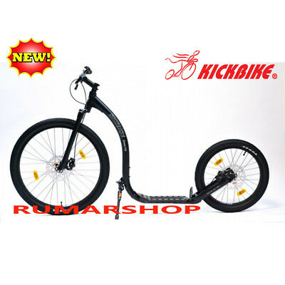 NIEUW NEW ORIGINAL KICKBIKE CROSS FIX black SCOOTER STEP