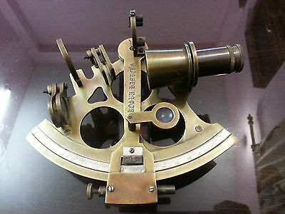 "Antique Style Nautical Sextant 6"" Vintage Marine Royal Navy Working Instrument"