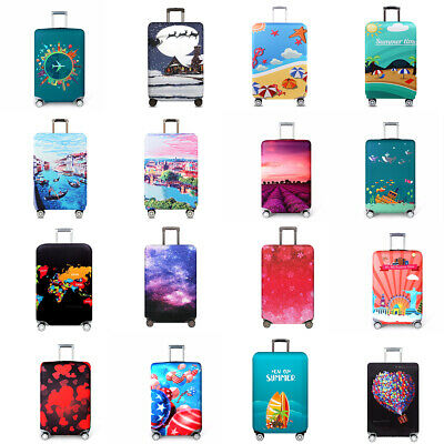 """18"""" - 32"""" Elastic Travel Luggage Cover Suitcase Cover Anti-scratch Protector"""