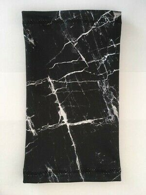 Lycra PICC Line or Freestyle Libre Cover - Black Marble