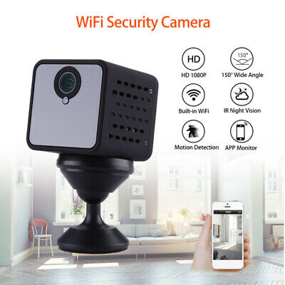 Mini Wireless Spia Telecamera IP Wifi Nascosta Micro Spy Full HD Video Camera DV