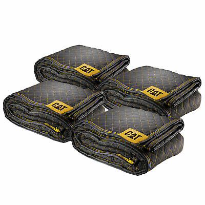 "Cat Utility Padded Protection Moving Blankets 80"" x 72"" 4 Pack - 240030"