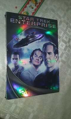 Box/cofanetto+3 dvd come nuovo STAR TREK ENTERPRISE SERIE STAGIONE 2 PARTE 1