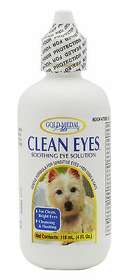 New Gold Medal Clean Eyes for Dogs and Cats - 4oz
