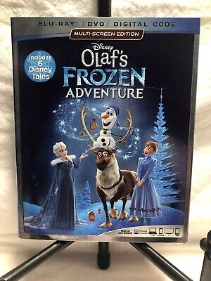 Disney Olaf's Frozen Adventure Blu-ray + DVD + Digital Code BRAND NEW  SEALED.
