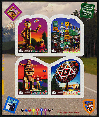 Canada 2336 Right Booklet Pane MNH Roadside Attractions, Vegreville Egg
